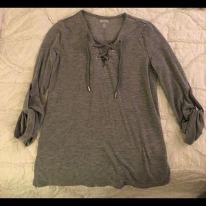 Michael Kors Gray Shirt